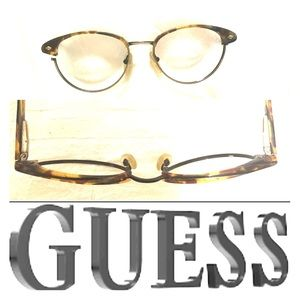 Guess glasses Tortoiseshell new no Lenses